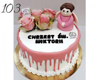 Chrzest-sw-drip-Cake-aniol-o