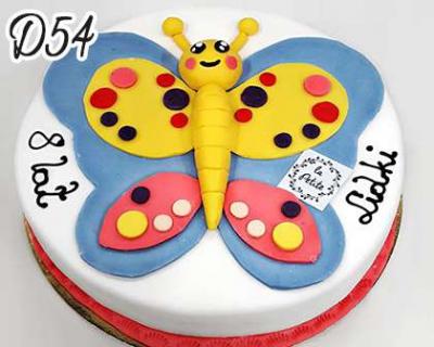 Tort-dzieciecy-motylek