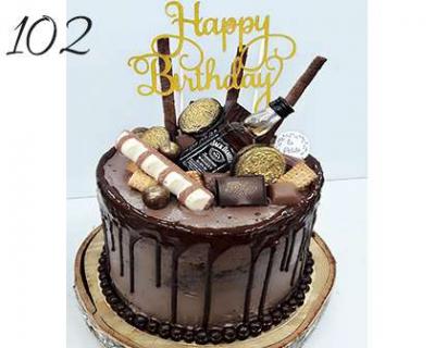 Tort-okazjonalny-Drip-Cake-Whisky-urodzinowy-o