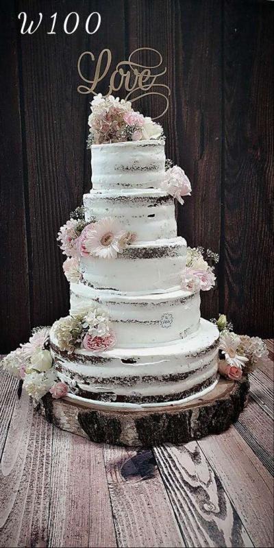 Tort naked Cake - Nature