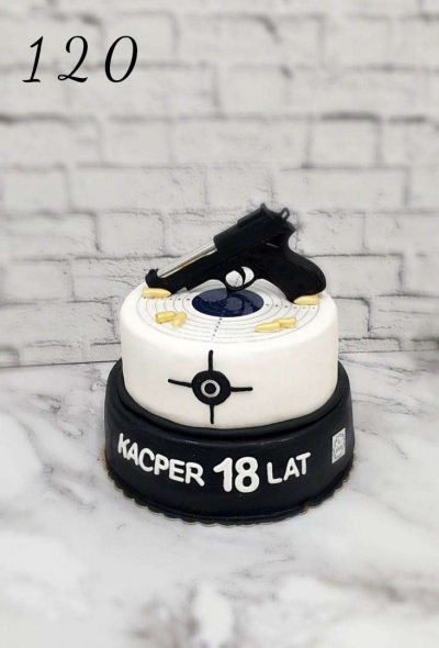 Tort okazjonalny- wystrzałowy tort