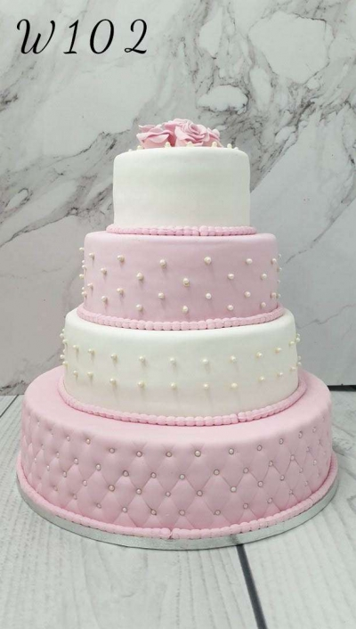 Tort weselny- pastel
