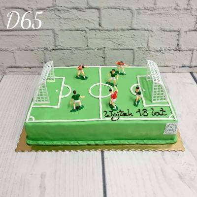 Tort boisko piłkarskie 3D