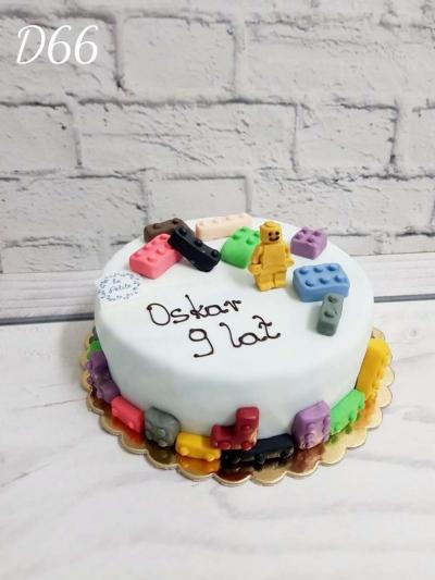Tort klocki-3D