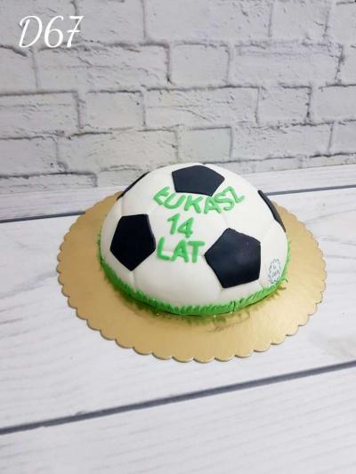 Tort piłka 3D
