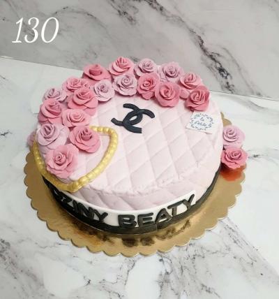 130 - Tort urodzinowy 3D w masie ticino