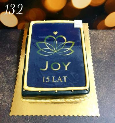 132-Tort firmowy z logo w masie ticino