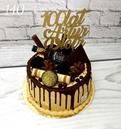 140-Tort urodzinowy Jack