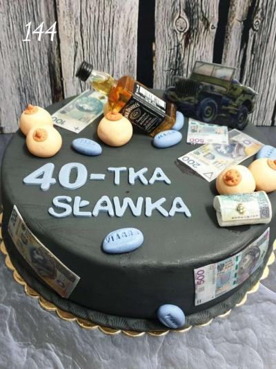 144_Tort okazjonlany- urodziny 3 D-