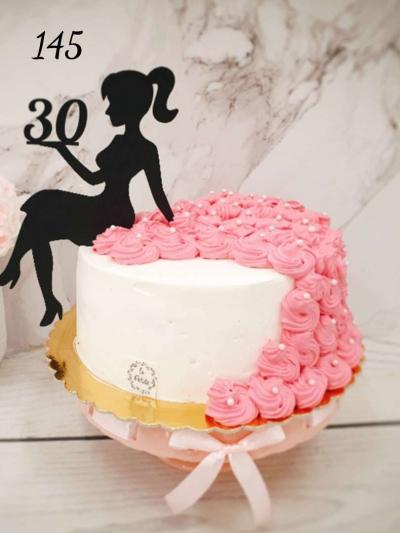 145_Tort urodzinowy- sukienka