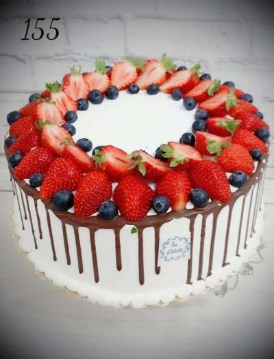 9.Tort okazjonalny- owocowy czar
