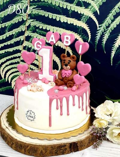 D80_Tort dla dzieci- Drip cake 3d