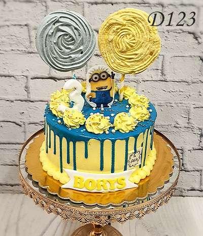 Drip Cake minionek