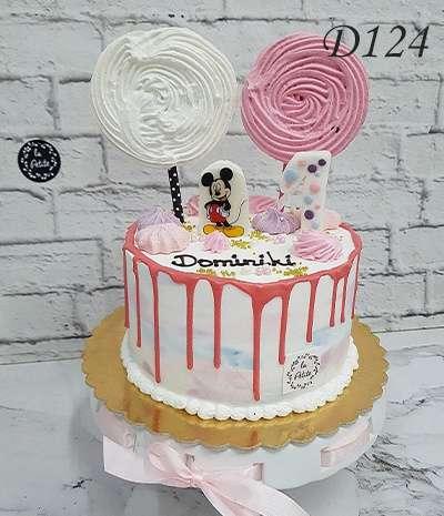 drip cake myszka